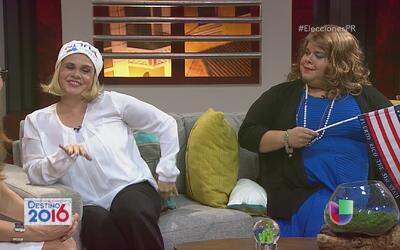JGo y Carmen Chulín llegaron a La Noche Encima