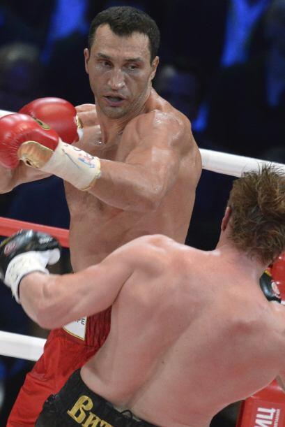 Klitschko tiró todo al rostro. No se contabilizó ning&uacu...