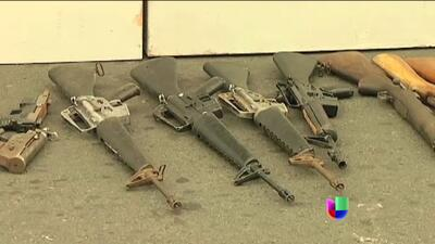 Pandillas entregan las armas en El Salvador