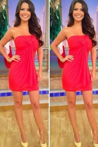 Julio 2, 2014: Un sexy modelito en color rojo.Este diseño es ideal para...