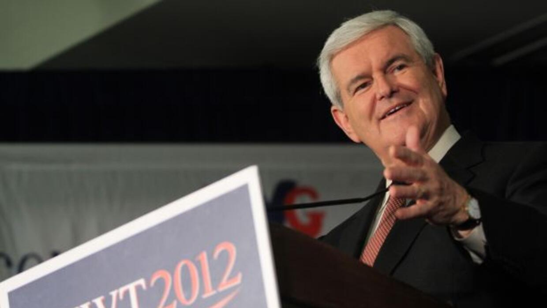 A pocos minutos de haber cerrado las urnas en Georgia, Newt Gingrich fue...