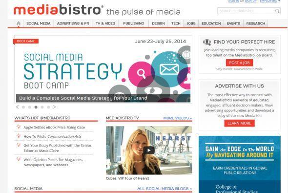 Mediabistro: Periodistas, creativos y cualquiera en medios debe saber de...