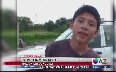 Niños expuestos a los peligros de la frontera