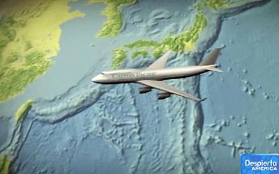 Gran turbulencia agita al un avión de la aerolínea Cathay