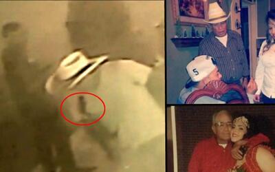 Una cámara de seguridad grabó el momento en que Manuel Ayala fue baleado...
