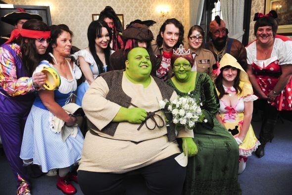 No, no se trata de una boda ecológica, sino de una de las bodas más excé...
