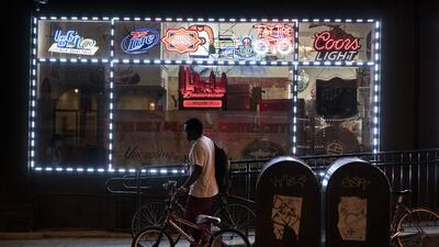 Una tienda de alcohol