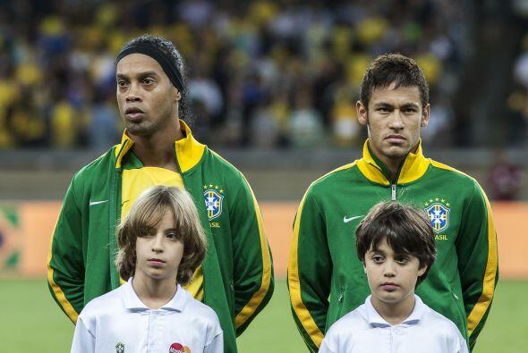 A pesar de ser un futbolista al que le encanta la fiesta, en Brasil es m...