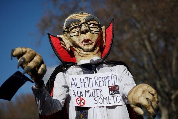 """""""Le digo al señor Rajoy: retire usted la ley, porque no vamos a parar, c..."""
