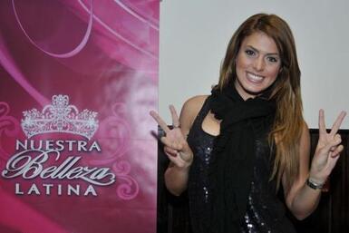 Participó en Nuestra Belleza Latina 2009.