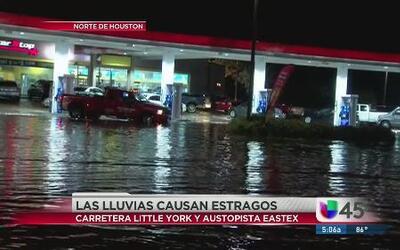 Lluvias causaron fuertes inundaciones