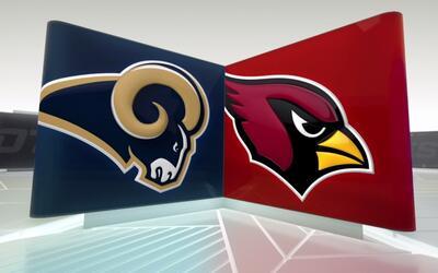 Cardinals pierden ante Rams y Palmer sale conmocionado