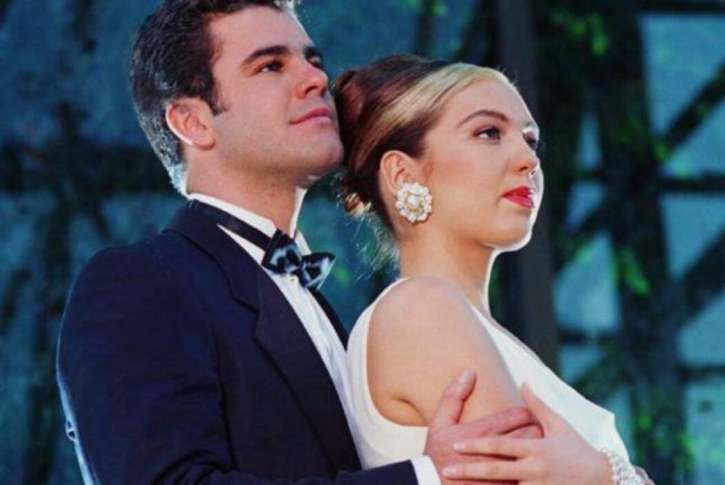 Ellos se enamoraban perdidamente en este melodrama.
