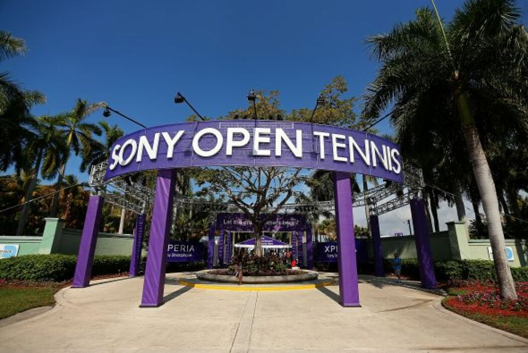 El centro de tenis de Crandon Park en Key Biscayne una vez más fue sede...