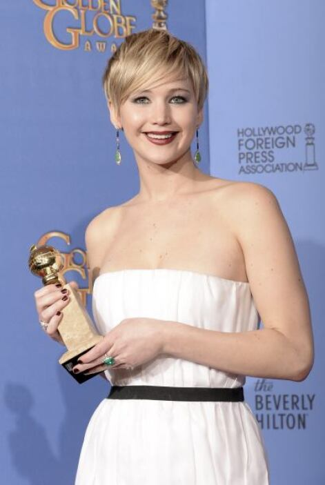 "4. JENNIFER LAWRENCE La protagonista de ""The Hunger Games"" y ""American H..."