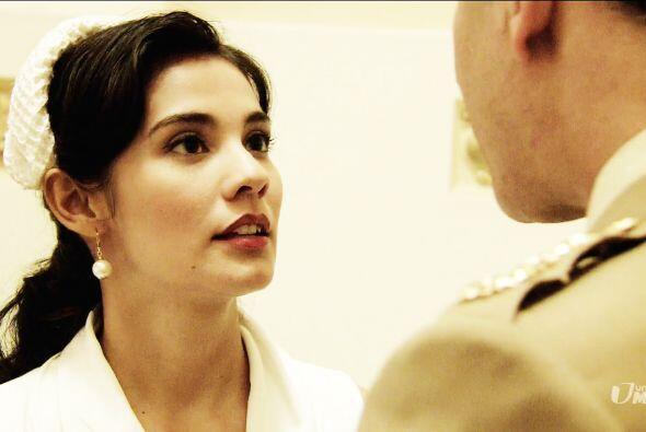 Mariana se preocupó al saber que visitarian el lugar del conflicto y se...
