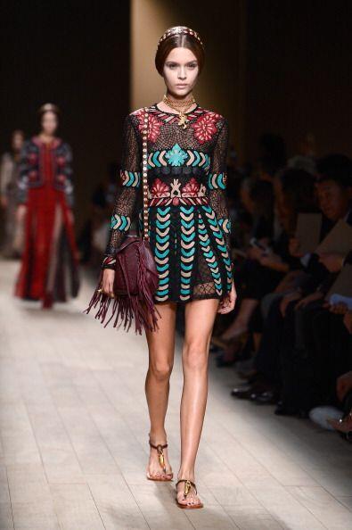 Esta moda 'hippie chic' toma su inspiración en diversas culturas...