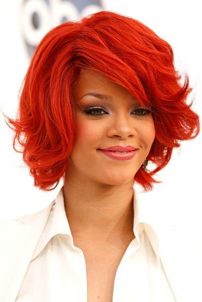 Después de un rojo pasión, se tiñó el cabell...