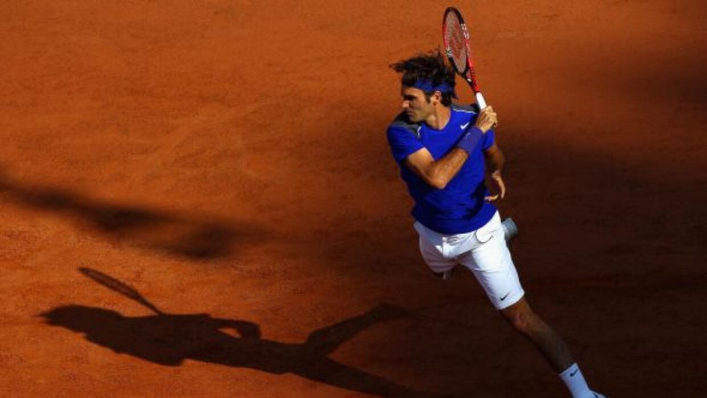 El suizo Federer tuvo muchos errores ante Gasquet, lo que le valió la el...