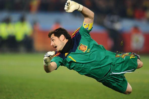 Actualmente el meta español tiene 7 partidos invicto y se encuent...