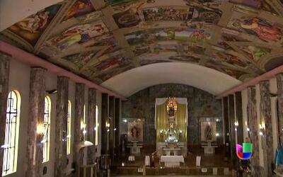 Miguel Ángel mexicano reproduce los frescos de la Capilla Sixtina en su...