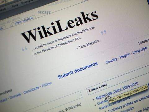 WikiLeaks es una organización periodística sueca sin fines...