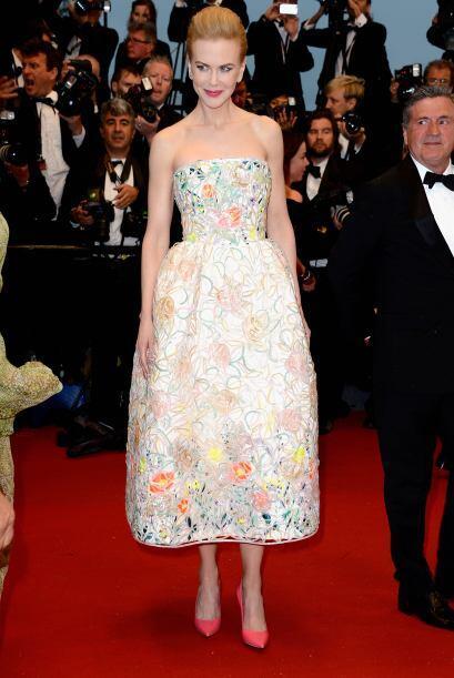 Como princesa de cuento de hadas, Nicole Kidman nos dejó encantados con...