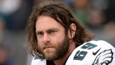 Evan Mathis podría salir de los Eagles (AP-NFL).