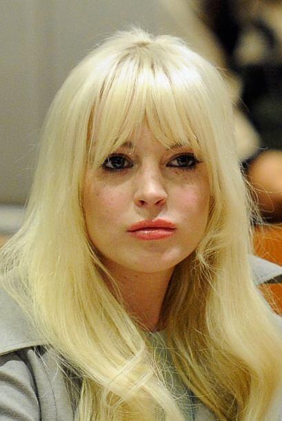 """Aún cuando ya estaba presentando una aparente """"buena conducta"""", Lindsay..."""