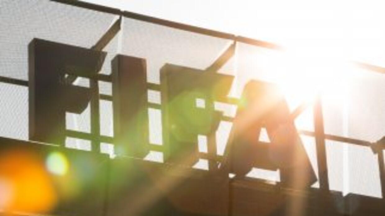 El logo de la FIFA.