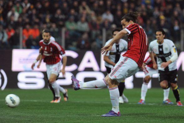 Zlatan Ibrahimovic fue el encargado de rematarlo y no defraudó.