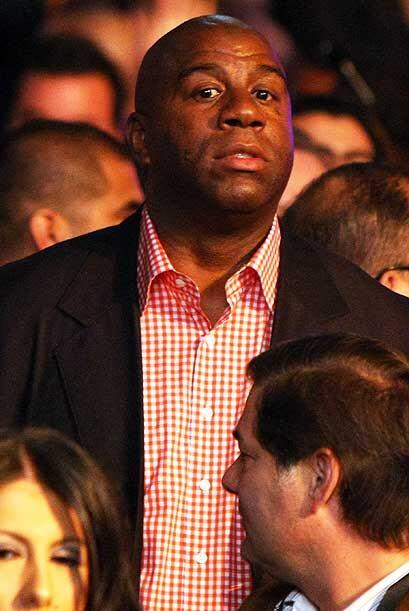 Earving 'Magic' Johnson no podía mantenerse al margen del megacom...