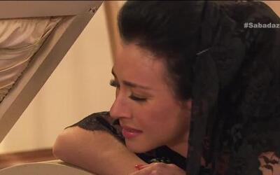 Diosa Canales sufre la muerte de su esposo
