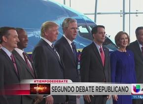 La inmigración protagonizó el segundo debate republicano