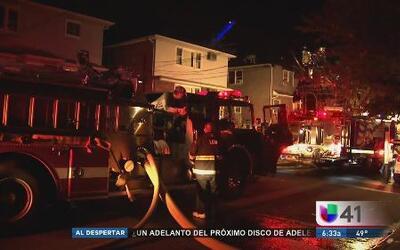 Incendio consume edificio de Chelsea