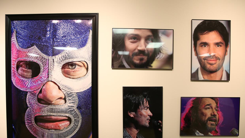 Los rostros de famosos