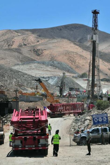 El orden para sacar a los mineros se basará en el estado de salud de cad...