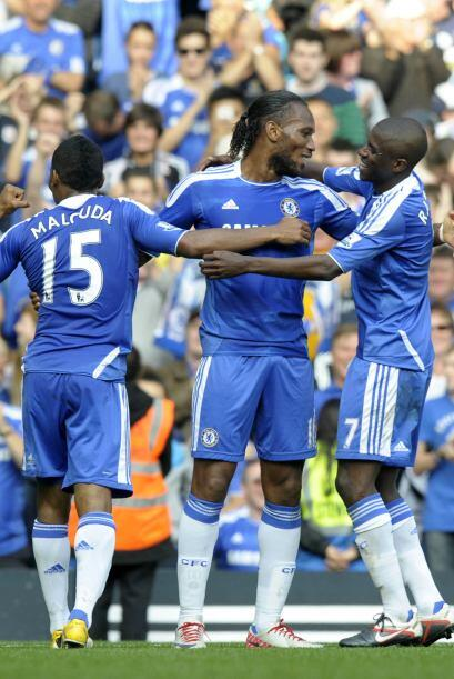 Salomón Kalou y Daniel Sturridge pusieron el 3 a 0 final. Los 'Blues' se...