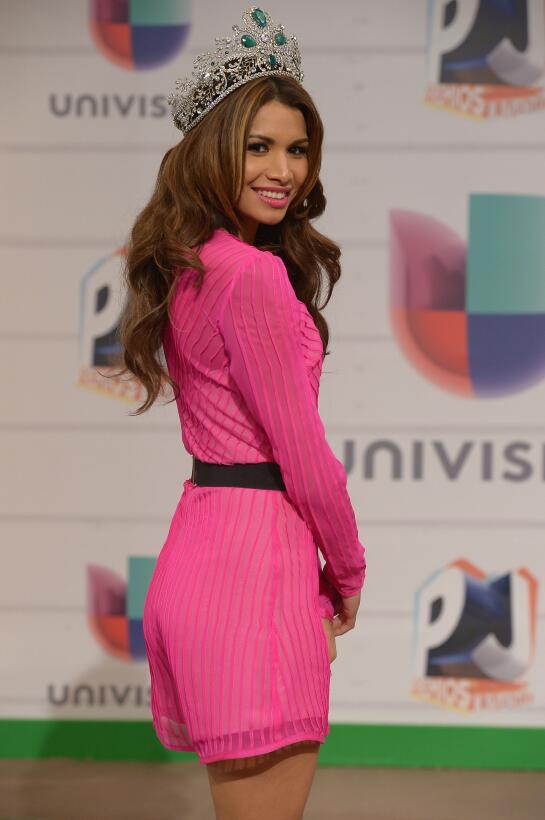 Marisela de Montecristo en Premios Juventud.