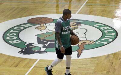 Los jugadores de los Celtics no sabían de la amenaza hasta aterrizar.