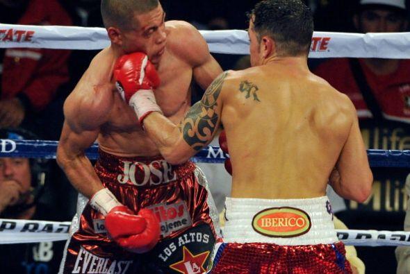 Vázquez fue más durante toda la pelea, auqnue la decisión fue bastante c...