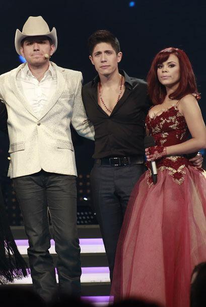 Antes, con Fernando y Ana Cristina.