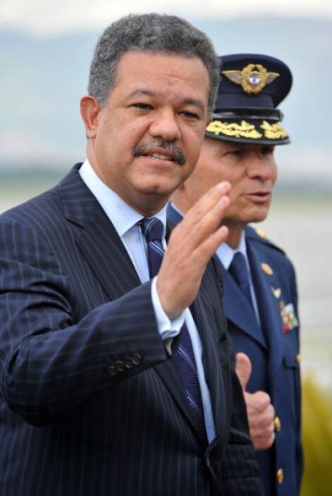 Leonel Ferdnández Reyna, presidente de República Dominicana.