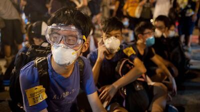 En Hong Kong se congregaron miles de manifestantes en el quinto día de p...