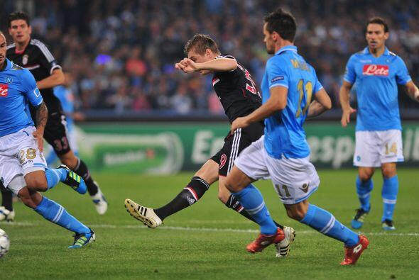 Toni Kroos abrió el marcador al minuto de juego, silenciando a lo...