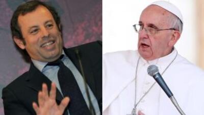 El presidente 'blaugrana' extendió una invitación para que el Papa Franc...