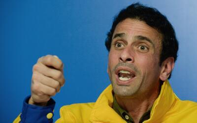 El líder opositor Henrique Capriles dice por qué considera que Venezuela...