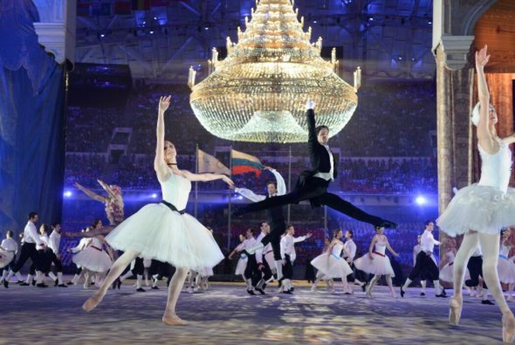 No faltaron los míticos ballets Bolshoi y Mariinski.