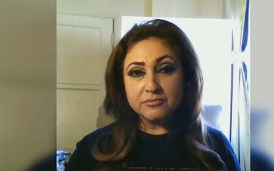 Jazmina Saavedra de Latinas por Trump dice que de 1 a 10 le pone 100 al...