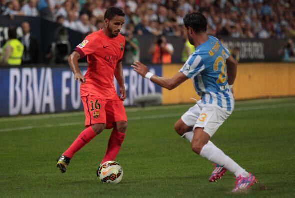 Douglas Pereira llegó al Barcelona el pasado verano proveniente d...